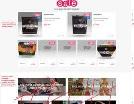 Nro 3 kilpailuun Design a WordPress Mockup Fireworks Store käyttäjältä ahmedhikal