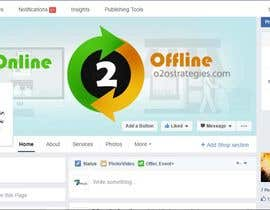 #10 for Design a Facebook Banner for: Online2Offline Strategies by ronit7pencils