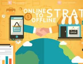 Nro 11 kilpailuun Design a Facebook Banner for: Online2Offline Strategies käyttäjältä kfernandojosei