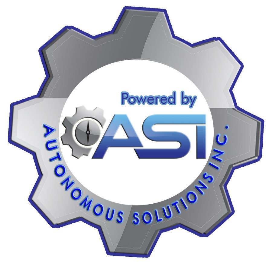 Konkurrenceindlæg #                                        8                                      for                                         Sticker/Badge design for Robotics Company (ASI)