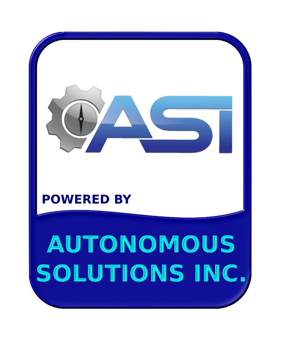 Konkurrenceindlæg #                                        109                                      for                                         Sticker/Badge design for Robotics Company (ASI)