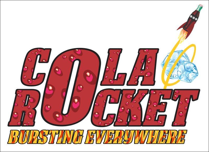 Penyertaan Peraduan #                                        45                                      untuk                                         Design a Logo for Cola Rocket