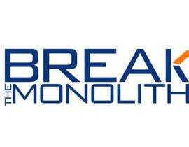 jaywdesign tarafından Design a logo for Break The Monolith için no 49