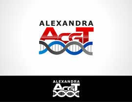 #12 para Design a Logo for the name ALEXANDRA por aur3lDESIGN
