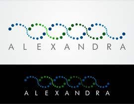 #5 para Design a Logo for the name ALEXANDRA por airbrusheskid