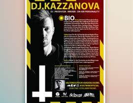CostantineAsher tarafından Design a Artist/DJ One Sheet için no 12