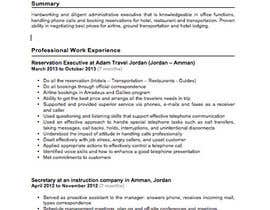 nº 7 pour Writing a Killer Resume + Cover letter !! par karlutoy