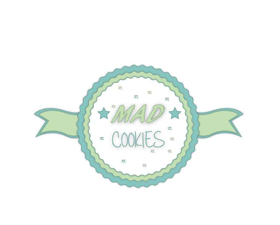 #118 for Design a Logo for Cookie Business CORRECTION: MAD COOKIES by sutanuparh