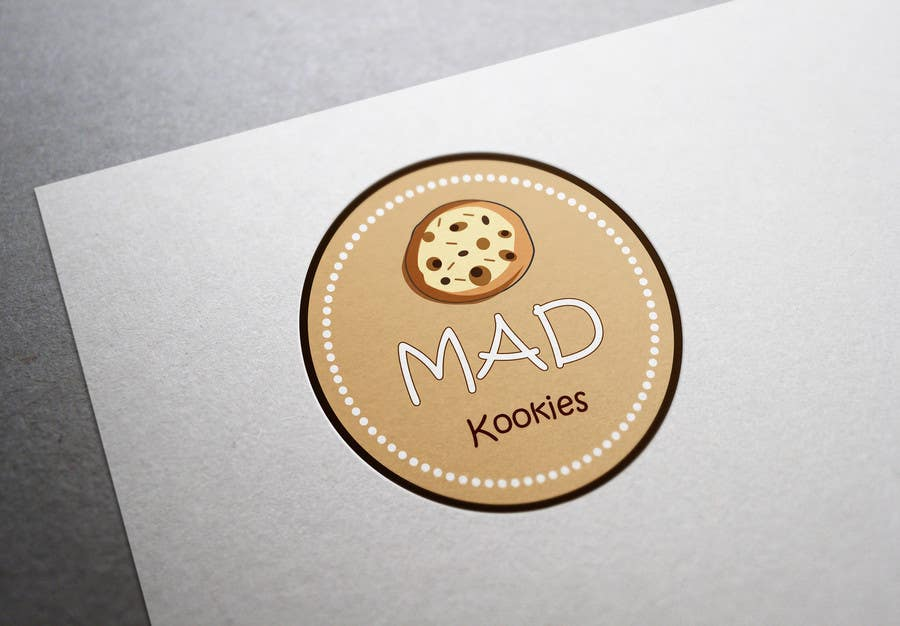 #124 for Design a Logo for Cookie Business CORRECTION: MAD COOKIES by PavelStefan