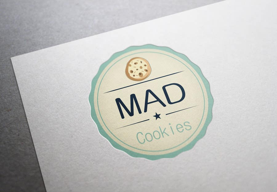 #125 for Design a Logo for Cookie Business CORRECTION: MAD COOKIES by PavelStefan