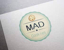 #125 para Design a Logo for Cookie Business CORRECTION: MAD COOKIES por PavelStefan