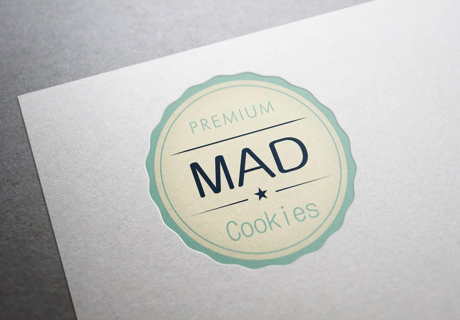 #126 for Design a Logo for Cookie Business CORRECTION: MAD COOKIES by PavelStefan