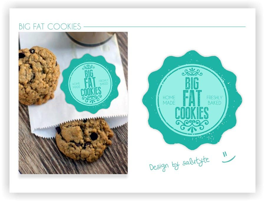 #102 for Design a Logo for Cookie Business CORRECTION: MAD COOKIES by salutyte