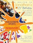Contest Entry #12 for Design a Flyer for a birthday party