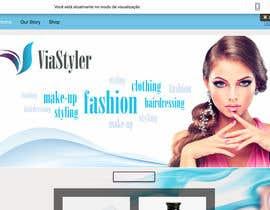 #1 para Design a simple webshop under Wix por APDB