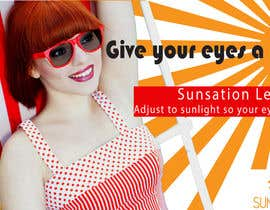 #29 for Design an Advertisement for Sunsation Lenses by Alice1124