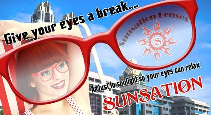 #22 for Design an Advertisement for Sunsation Lenses by akritidas21