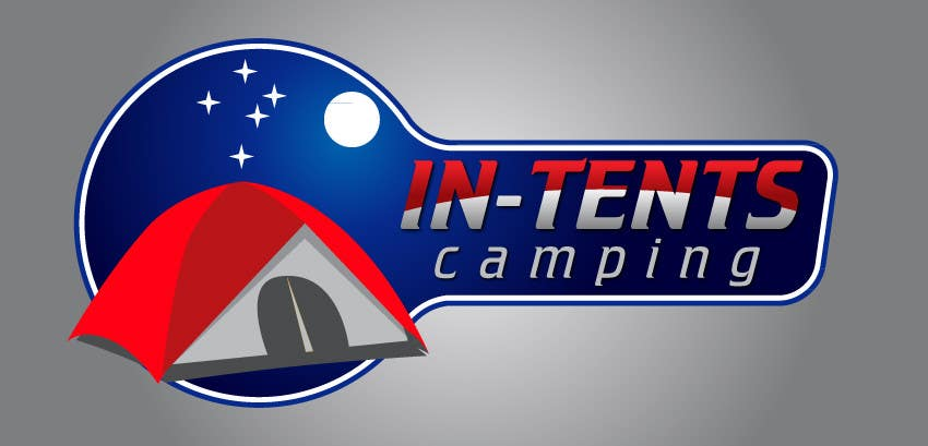 Proposition n°                                        63                                      du concours                                         Logo Design for In-Tents Camping