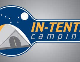 nº 36 pour Logo Design for In-Tents Camping par Oxigen66
