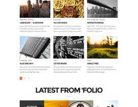 #35 for Design a Wordpress Mockup for portfolio by codeunderground