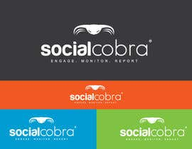 #62 for Design a Logo for Social Cobra by GeorgeOrf