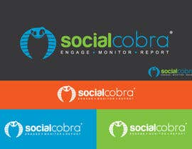#82 for Design a Logo for Social Cobra by GeorgeOrf