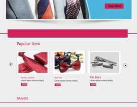 Nro 1 kilpailuun Design a Website Mockup- website name: www.ha-bibs.com.au käyttäjältä stcserviciosdiaz