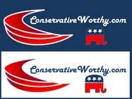 Graphic Design Contest Entry #13 for Design a Logo for ConservativeWorthy(dot)com