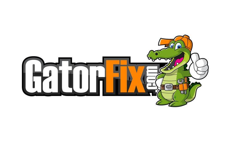 Kilpailutyö #80 kilpailussa Mascot for GatorFix