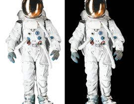 #1 para Illustrate/design a realistic Astronaut for printing por Headnhand