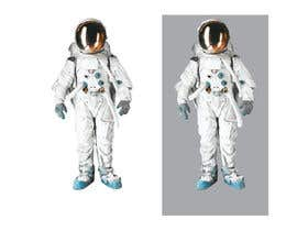 #2 para Illustrate/design a realistic Astronaut for printing por Headnhand