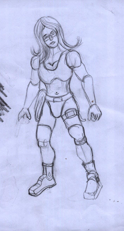 #7 for Create 2 Gunman Characters — Female & Male by mainulislam85
