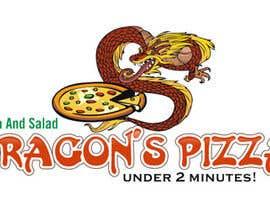 #20 untuk Develop a new logo for Dragon's Pizza oleh infoYesDesign