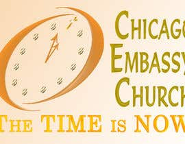 nº 33 pour Graphic Design for Chicago Embassy Church par laureen08