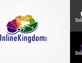 nº 50 pour Logo Design for Online Kingdom par airbrusheskid