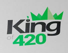 #33 para Design the best logo for Kingof420 por frankwaalkens