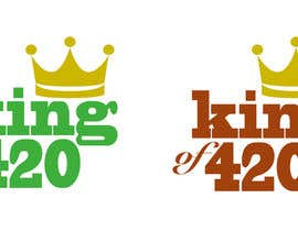 #4 para Design the best logo for Kingof420 por cassieshattow