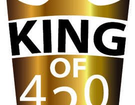 #46 para Design the best logo for Kingof420 por adityajoshi37