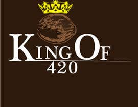 #23 para Design the best logo for Kingof420 por sicreations