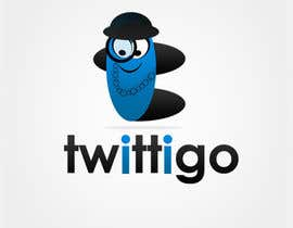 #163 cho Logo Design for twittigo, a touristical and guide service bởi UnivDesigners