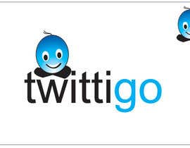 #210 untuk Logo Design for twittigo, a touristical and guide service oleh anjaliom