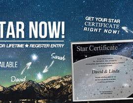 Nro 83 kilpailuun Design a Banner for Star-Registration.com käyttäjältä ClaudiuTrusca