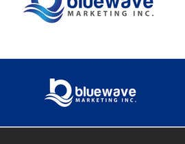 #34 untuk Design a Logo for Blue Wave Marketing Inc oleh alexandracol