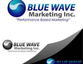 #54 untuk Design a Logo for Blue Wave Marketing Inc oleh dandrexrival07