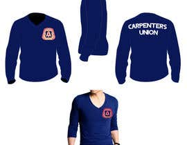 #1 para Design a T-Shirt for Carpenters Union por robertlopezjr