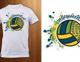 ShadaoPartners tarafından Design A Volleyball T-Shirt için no 5
