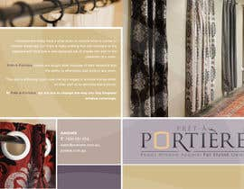 #2 for Design a Brochure for curtain and fabric company by lachlan00