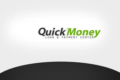 Graphic Design Contest Entry #110 for Design a logo for QuickMoney Loan and Payment Center