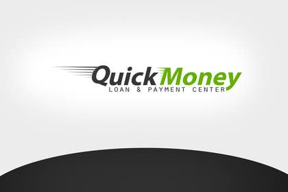 Graphic Design Contest Entry #111 for Design a logo for QuickMoney Loan and Payment Center