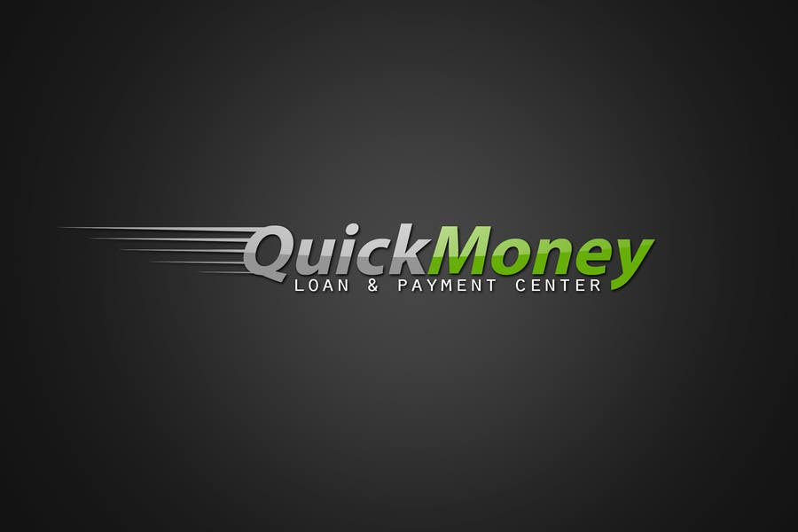 #112 for Design a logo for QuickMoney Loan and Payment Center by rogeliobello